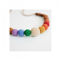 Collana Earthy Simple Rainbow