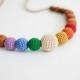 Collana Earthy Simple Rainbow