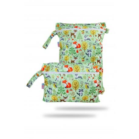 Wet bag multiformato Petit Lulu - Forest animal
