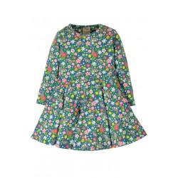 Vestito Little Sofia Skater Dress Rabbit in cotono biologico GOTS