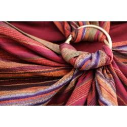 Fascia ad anelli Girasol Tierra Red diamond