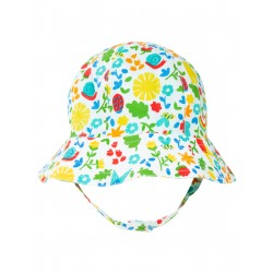 Cappello reversibile Allotment Days  Frugi in cotone biologico