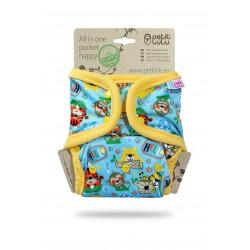 Pannolino lavabil Pocket/AIO Petit Lulu - diverse fantasie