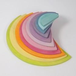 Semicerchi arcobaleno pastello Grimm's