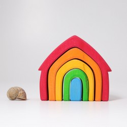 Casa colorata - costruzioni grimm's 6 pezzi