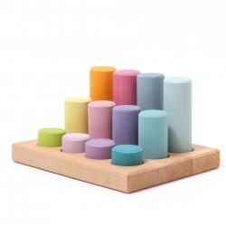 Gioco dei cilindri pastello - Grimm