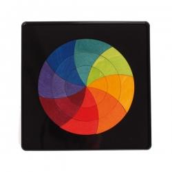 Puzzle magnetico in legno Cerchio di Goethe