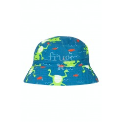 Cappello reversibile Train Frugi in cotone biologico