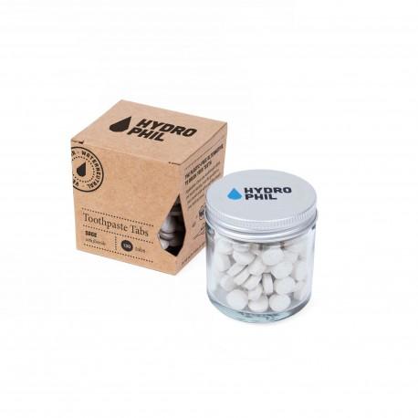 Dentifricio in pastiglie zerowaste - gusto salvia con fluoro