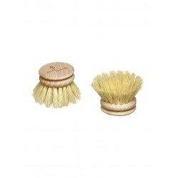 Testina di ricambio per spazzola piatti