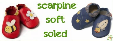 Scarpine soft soled made in Europe